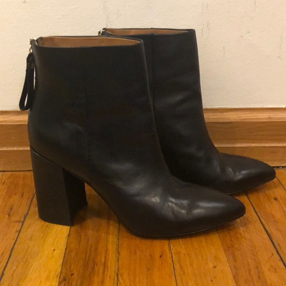 4cb3fc2b7 & Other Stories Shoes   Other Stories Black Leather Booties   Poshmark